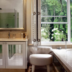 bathroom1<br /><p>Enhancing the natural light by incorporating reflective surfaces helps to create this light atmosphere.<br />This Bathroom was completely re-designed to provide a place of harmony and relaxation.</p>