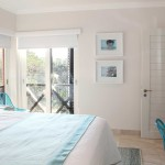 beach6<br /><p>The Guest Bedroom reflects a cool, fresh colour palette and bespoke furniture that is functional as well as adding to the beach-vibe.</p>